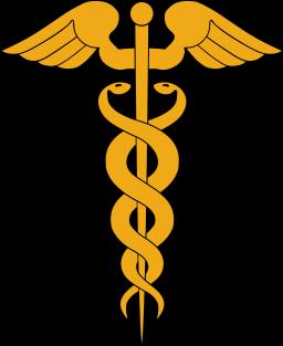 Heraldic Caduceus